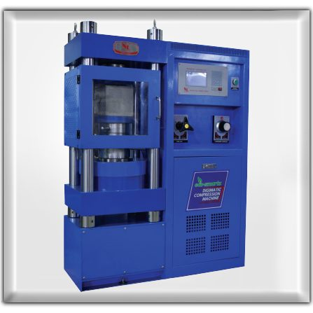 NL 4000 X 032 - Digimatic Compression Machine 2000kN